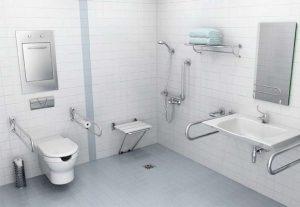Adaptación de baños para minusválidos